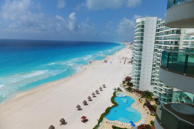 Luxury apartments for rent Cancun Beach