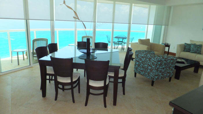3 bedroom apartment cancun