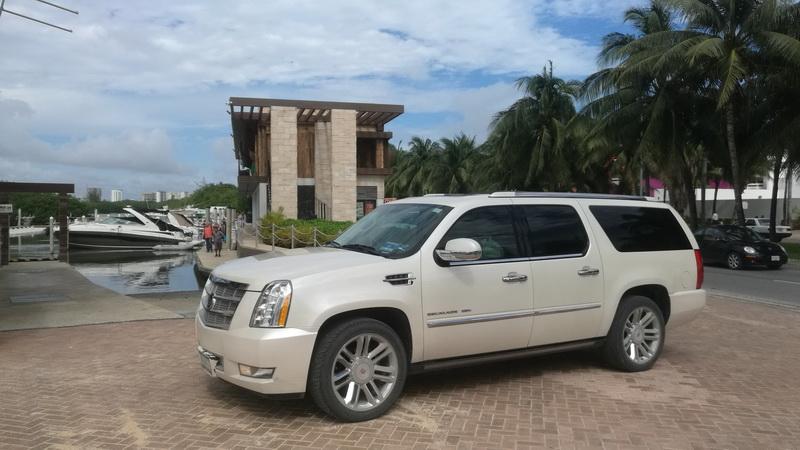 Cadillac Escalade transfers