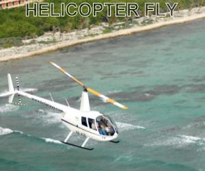 Helicopter tour Cancun