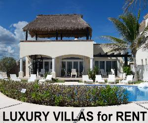 Luxury Villas for rent Playa del Carmen