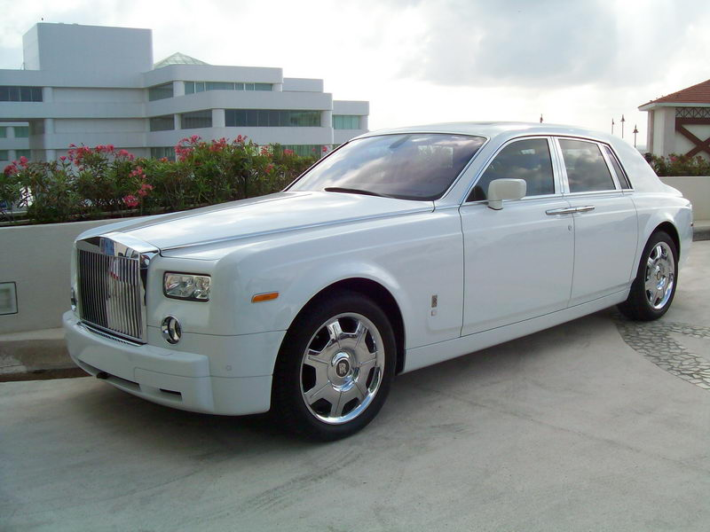Roll Royce limo
