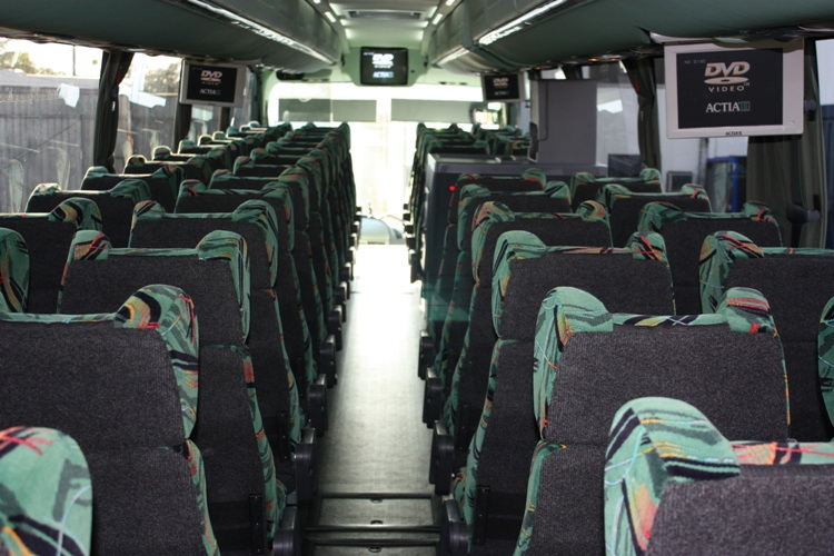 Bus with LCD tv