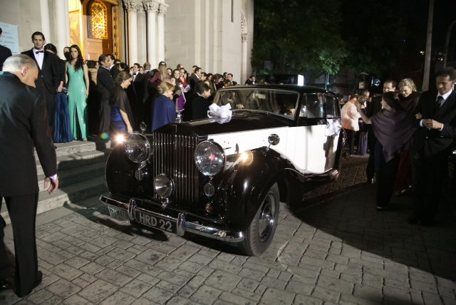 Roll Royce wedding