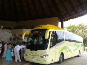 bus for wedding