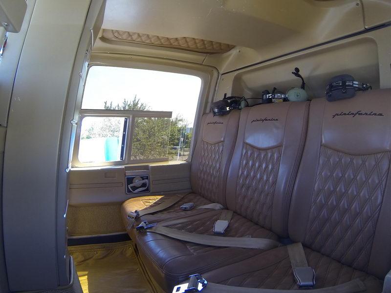 Bell 206 interior