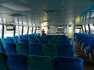 Shuttle isla mujeres interior